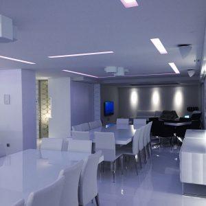 Luces indirectas techos y tabiques pladur